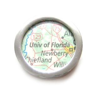 University of Florida Map Pendant Magnet